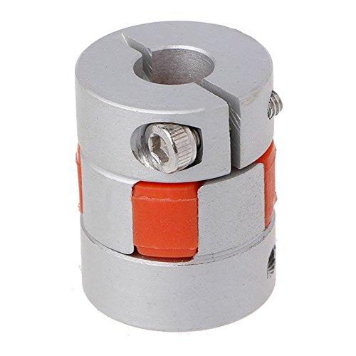 Sonline 5mm x 8mm x 25mm CNC Schrittmotor Flexible Plum Jaw Wellenkupplung Koppler...