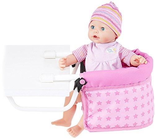 Bayer Chic 2000 Traumhafter Puppen-Tischsitz Sternchen (Rosa-Pink)