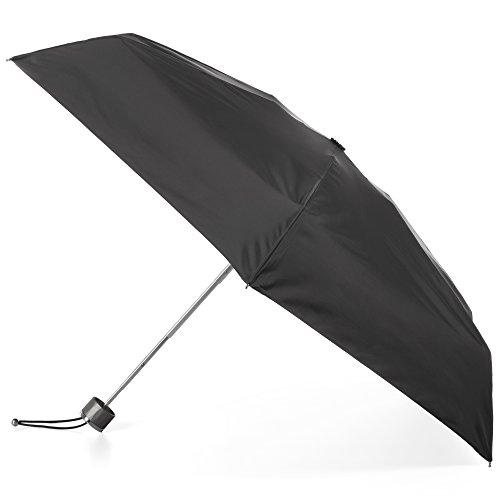 totes Titan Manual Open Windproof & Water-Resistant Compact Foldable Travel Umbrella