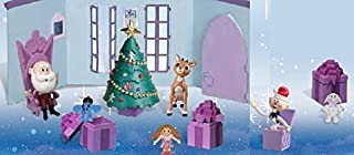 Forever Fun Rudolph The Red-Nosed Reindeer Santa's Castle Hall Diorama Figurine Set with Bonus Misfit Toys