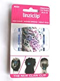 LinziClip MIDI The Ultimate Claw Clip Colour Flowers / Clear Wings