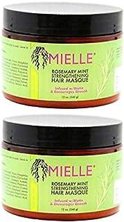 Mielle Rosemary Mint Strengthening Hair Masque 12OZ (2PCS)