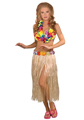 Forum Novelties Hawaiian Hula Girl Dancer 3-Piece Costume Kit