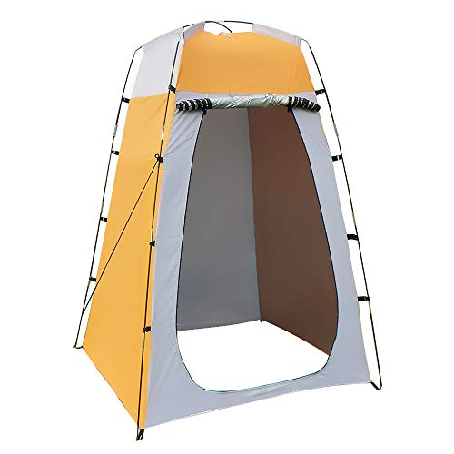 Lixada Outdoor 6FT Quick Set Up Privacy Tent, Toilet, Camp Shower, Portable Changing Room for Camping Shower Biking Toilet Beach