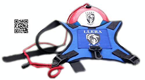 Llera SPort Fußball Kick Trainer Football Kick Trainingsgeräte.Die Beste Trainer-Fußball-Methode - Fußball-Trainings Fußball-Geschicklichkeit - Ball .Trainer Fußball