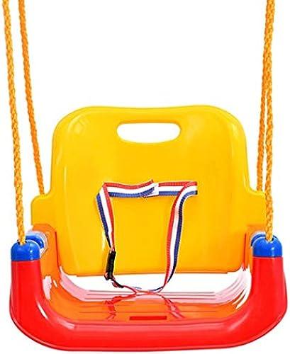 TD B5547 Kinderschaukel Hebt Indoor-Outdoor-Tisch-Style-Kinderkombinations-Swing-Lifte An (Farbe   Rot)
