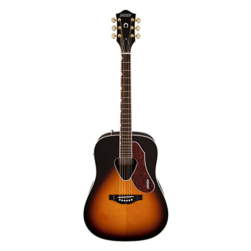Gretsch Guitars G5024E Rancher Dreadnought Acoustic-Electric Guitar Sunburst