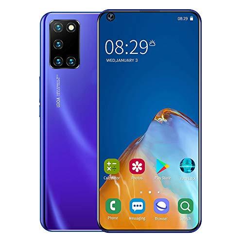 Mobile Phone Teléfono Inteligente 7.2 Pulgadas de Alta definición Pantalla Grande teléfono móvil Tarjeta Dual 2GB + 16GB Memoria expandible teléfono Android batería de 5000mAh