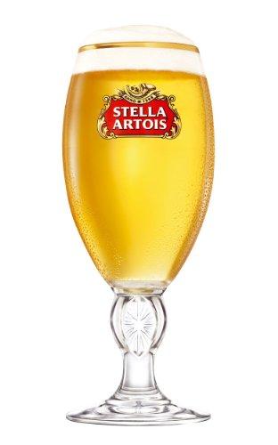 Stella Artois Belgian Chalice Beer Glasses 0.5L - Set of 2