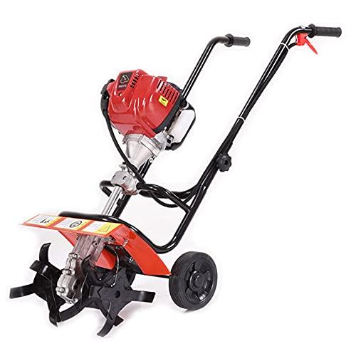 QILIN Motozappa A Scoppio, Motocoltivatore A Scoppio A 4 Tempi, Coltivatore/Motocoltivatore Piccolo per Uso Domestico, Adatto per Il Miglioramento del Suolo di Piccoli Giardini