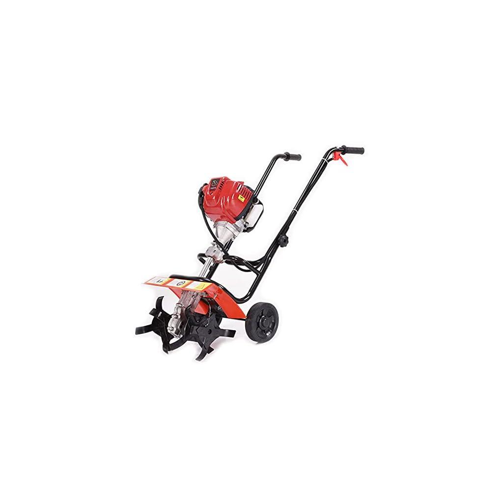 QILIN Motoculteur à Essence, Cultivateur À Essence À 4 Temps, Petit Motoculteur/Cultivateur Domestique, Adapté À L…