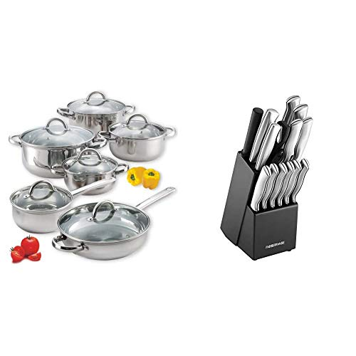 Cook N Home 12-Piece Stainless Steel...
