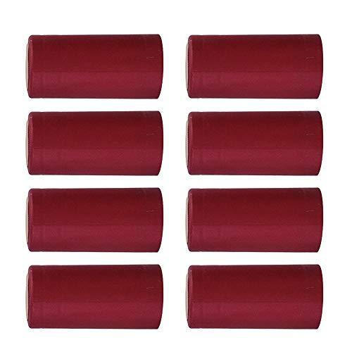 Cápsulas termoencogibles de PVC 100 Uds, Envoltura retráctil para Vino, cápsulas para Botellas de Vino, Tapas retráctiles, Tapas de Botellas de Vino para bodegas, hogar
