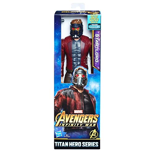 Marvel- Figura Titan Hero Series Infinity War, Starlord (Hasbro E1427EU4)