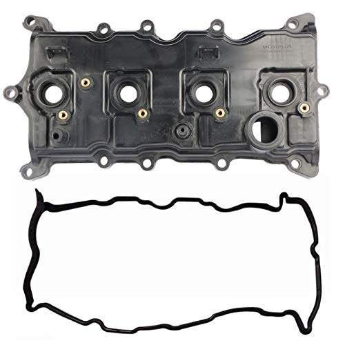 MOSTPLUS Engine Valve Cover with Gasket Compatible for 07-13 Nissan Altima Sentra SE-R 2.5L Replace 13264JA00A 13270JA00A
