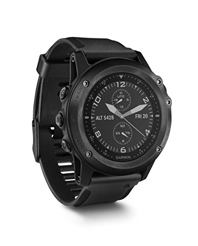 Garmin Tactix Bravo, Black with Silicone Band