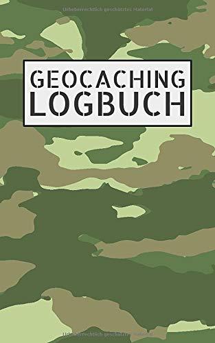 Geocaching Logbuch: Mini Notizbuch und Logbuch für Geocacher - Geocaching Zubehör und Ausrüstung Nano - Log mit Platz für 200 Eintragungen - Kleines Geocach Buch für Flasche oder Dose als Versteck