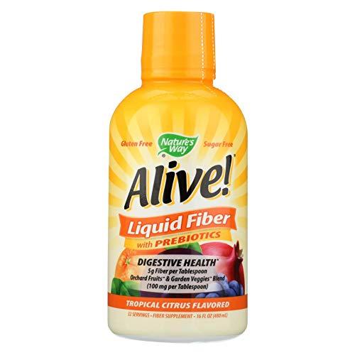 Natures Way Fiber - Alive - Liquid - Citrus - 16 oz