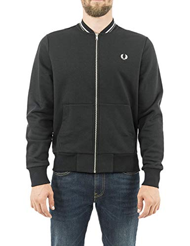 Fred Perry Zip Through Sweatshirt, Chaqueta deportiva - S