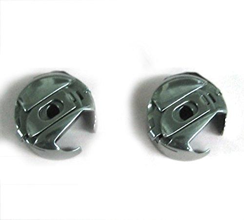 Cutex (TM) Brand 2 Bobbin Cases for Pfaff Home Sewing Machines 14mm Opening Bobbin Case