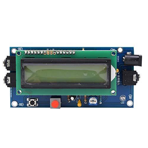 DC7-12V 500mA lector de código Morse preciso traductor pantalla LED decodificador CW decodificador de código Morse para entusiastas de la electrónica