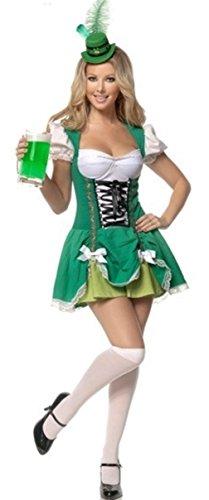 signore Aimerfeel irlandese birra domestica del costume di formato costume 46-48