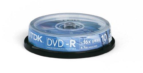 Tdk Box Dvd-R T19415 4 7Gb 16X 10 Pz