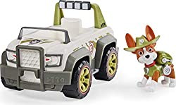 OFF-ROAD TOY CAR: Tracker is all ears With authentic detailing and working wheels, Tracker's Jungle Cruiser is ready to take on exciting rescue missions COLLECTIBLE TRACKER FIGURE: This Jungle Cruiser vehicle includes a collectible Tracker figure Wea...