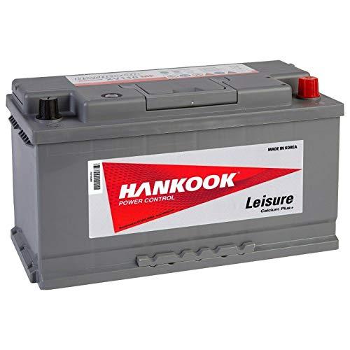 Hankook XV110 12V 110Ah Batterie Décharge Lente Pour Loisir, Caravane, Camping Car, Bateau - 354x174x190mm