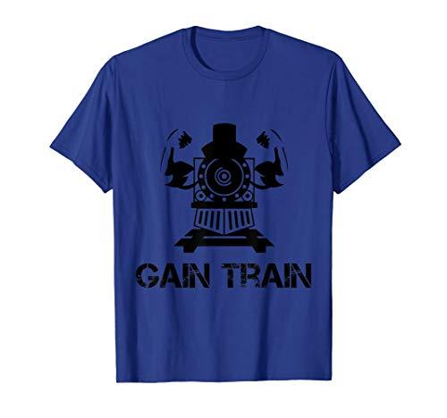 Gain Bodybuilding T Shirt Powerlifting Gewichtheben Gym Musk
