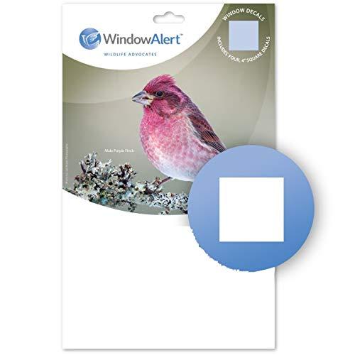 WindowAlert Klassische quadratische Aufkleber.