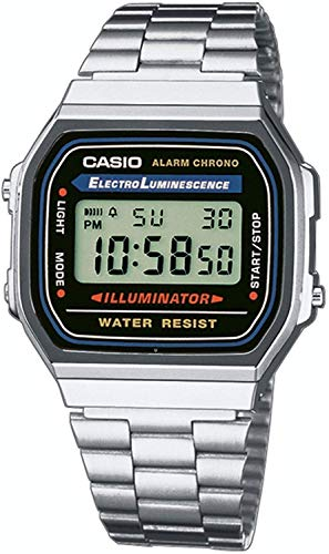 Casio Men's Vintage A168WA-1 Electro Luminescence...