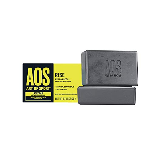 Art of Sport Body Bar Soap (2-Pack) - Rise Scent -...