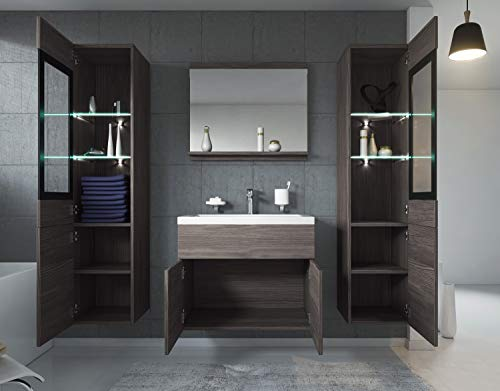Badezimmer Badmöbel Set Rio XL LED 60 Bild 2*