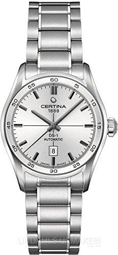 Certina Damen-Armbanduhr XS Analog Automatik Edelstahl C006.207.11.031.00
