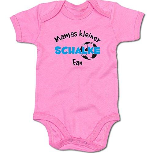 G-graphics Mamas Kleiner Schalke Fan Baby-Body Suite Strampler 250.0459 (0-3 Monate, pink)