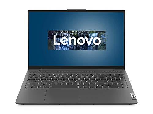 Lenovo IdeaPad 5 Laptop 39,6 cm (15,6 Zoll, 1920x1080, Full HD, WideView, entspiegelt) Slim Notebook (AMD Ryzen 5 4500U, 8GB RAM, 512GB SSD, AMD Radeon Grafik, Windows 10 Home) grau