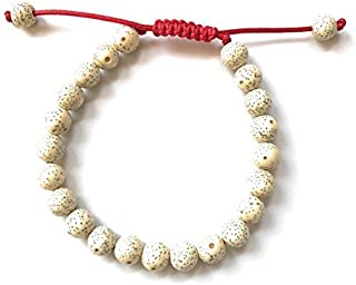 Hands Of Tibet Tibetan Mala Lotus Seed Wrist Mala Bracelet Meditation Free Mala Pouch