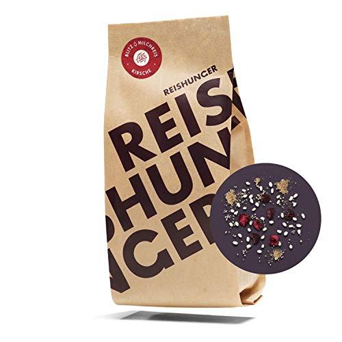 Reishunger Blitz-Milchreis, 3er Vorteilspaket - Kirsche (3 x 245g) Mit saftigen Kirschen und Zimt - fertig in 15 Min.