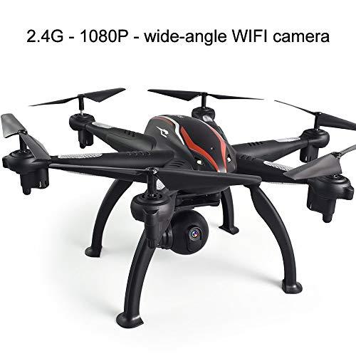 Tianzly Drohne 6-Achsen-RC-Hexacopter-GPS-Drohne mit 1080P HD-Kamera-3D-Rolle/Positionierung/EIN-Schlüssel-Surround-Flug 2,4 / 5G-Hubschrauber-Spielzeug