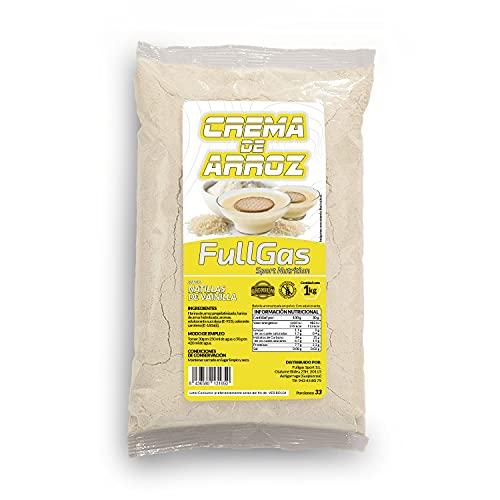 FullGas - CREMA DE ARROZ Natillas Vainilla 1kg