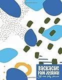 Backache Pain Journal: Self Care Daily Planner - Pattern