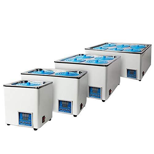 Fayelong 300-1200W 60 Hz Elektroheizung Digitalanzeige Thermostat BHS Wasserbad mit wählbaren Öffnungen 1-6 Loch