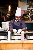 ✮Tempery ✮ Kochschürze Männer & Frauen, Kochschürze, Küchenschürze, Grillschürze, Schürze Herren & Damen - Premium-Qualität 100% Baumwolle - Blau - Latzschürze ✮ GESCHENK : Geschirrtuch-Küche - 5