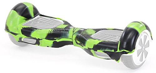 "Robway Original Hoverboard Silikon Schutzhülle - W1 & W2 (6,5\"" / 8\"") - Gummihülle - Cover - Skin (Größe 8 Zoll/Camouflage Grün)"