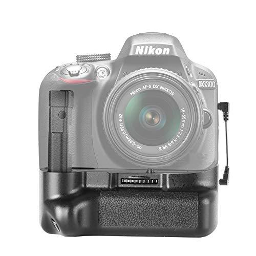 Meike MK-D5300 Professional Vertical Battery Grip Compatible with Nikon D5300 D3300 Cameras