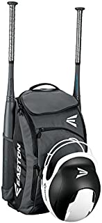 EASTON PROWESS Bat & Equipment Softball Backpack Bag | Designed for the Female Athlete | 2019 | 2 Bat Sleeves | Vented Shoe Pocket | Felt Lined Top Pocket w/ Flip Up Mirror | Helmet Strap | Fence Hook