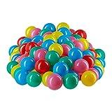 Relaxdays Bolas Piscina Infantil de Colores, A partir de 6 Meses, Plástico, 6 cm, Set de 200 Unidades, Multicolor, pack of 200 (10022476_777)