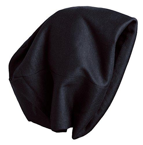Brubaker Bonnet tendance pour homme ou femme - Motif grafitti - Pour automne et hiver - Noir - Taille Unique