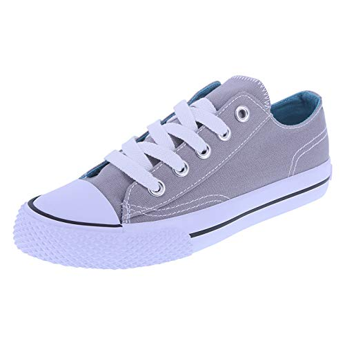 Boys Grey Canvas Shoes